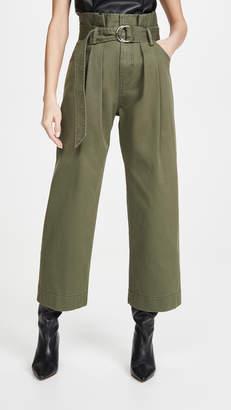 Marissa Webb Dixon Paper Bag Pants