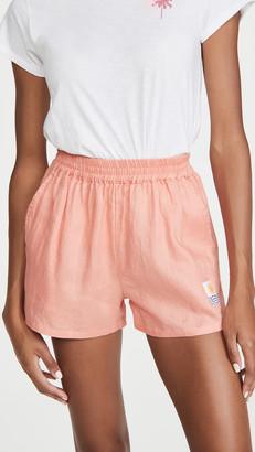 L.F. Markey Linen Shorts