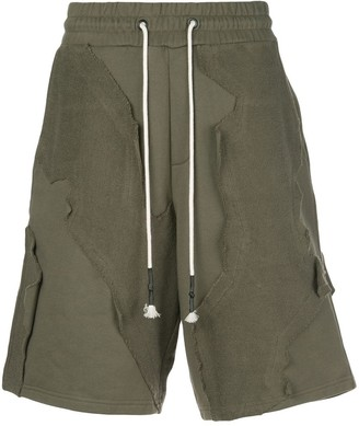 Mostly Heard Rarely Seen Cut Me Up knit shorts