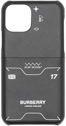 Burberry symbol print iPhone 11 Pro case