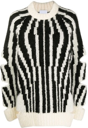 Burberry Cut-Out Oversized Jumper