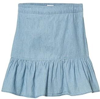 Cotton On Free Harper Skirt (Big Kids) (Chambray) Girl's Skirt
