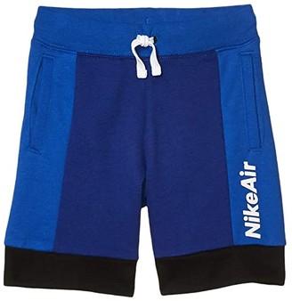 Nike Kids French Terry Knit Logo Pull-On Shorts (Little Kids) (Deep Royal Blue) Boy's Shorts
