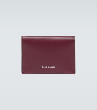 Acne Studios Bifold leather cardholder