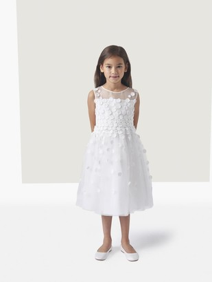 Oscar de la Renta Elyse Floral Degrade Organza And Tulle Dress