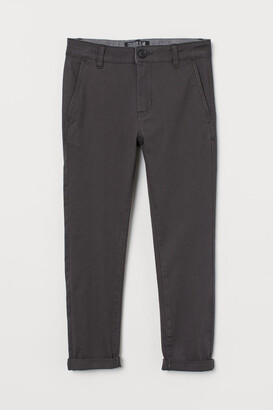 H&M Skinny Fit Chinos - Gray