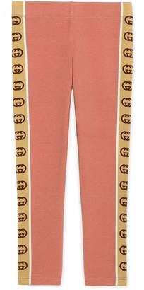 Gucci Children's leggings with Interlocking G