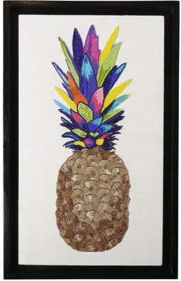 Jonathan Adler Pineapple Beaded Wall Art