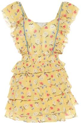LoveShackFancy Phyllis floral cotton minidress