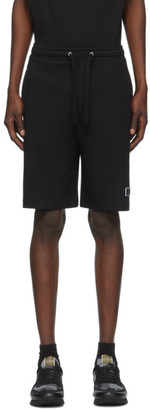 Valentino Black VLTN Bermuda Shorts
