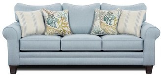 "Beachcrest Home Lottie 88"" Rolled Arm Sofa Product Type: Sofa"