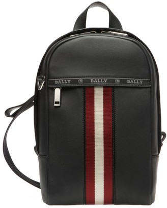 Bally High Point Leather Sling Backpack