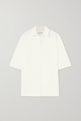 Georgia Alice Pierre Crepe Shirt - White