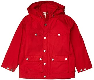 Fjallraven Kids Greenland Jacket (Little Kids/Big Kids) (Lava) Kid's Clothing