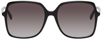 Gucci Black Thin Square Sunglasses