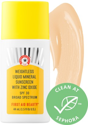 First Aid Beauty Weightless Liquid Mineral SPF 30