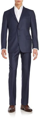 Hickey Freeman Classic Fit Milburn Wool Suit