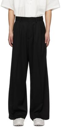 Ambush Black High-Waisted Wide Trousers
