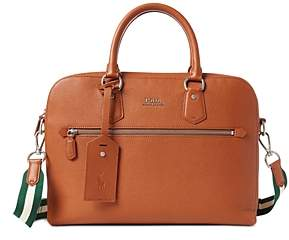 Polo Ralph Lauren Pebbled Leather Briefcase