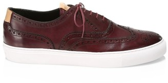 Grenson Wingtip Leather Sneakers