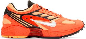 Nike Red Air Ghost Racer Sneakers