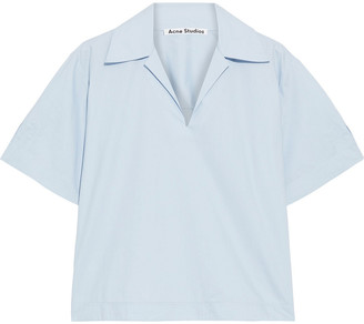 Acne Studios Sasha Cotton-poplin Shirt