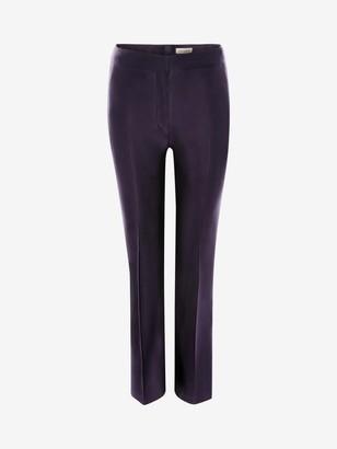 Alexander McQueen High-Waisted Cigarette Pants