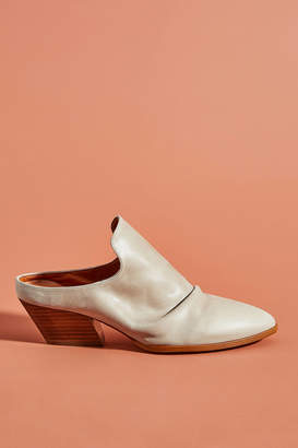 Anthropologie Amstur Heeled Mules