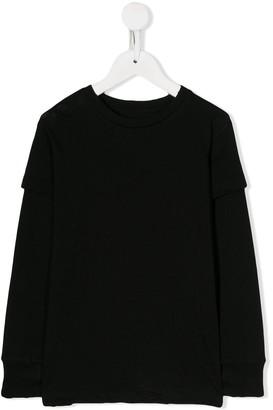 Nununu Layered-Sleeve Sweatshirt