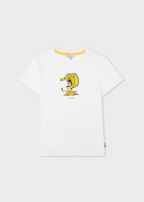 Paul Smith 2-6 Years White 'Monkey In Lion' Print T-Shirt