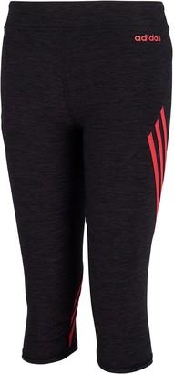 adidas Girls 7-16 Stripe Capri Leggings