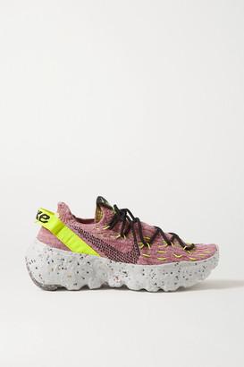 Nike Space Hippie 04 Space Waste Flyknit Sneakers - Pink