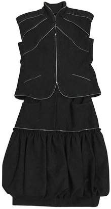 Chanel Grey Wool Skirts