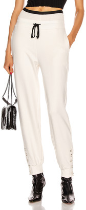 The Range Contral Terry Double Waist Jogger in Dove | FWRD