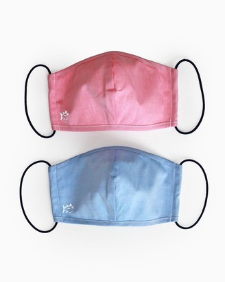 Southern Tide 2-Pack Blue and Red Face Mask Cover