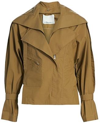 3.1 Phillip Lim Detachable Collar Safari Jacket