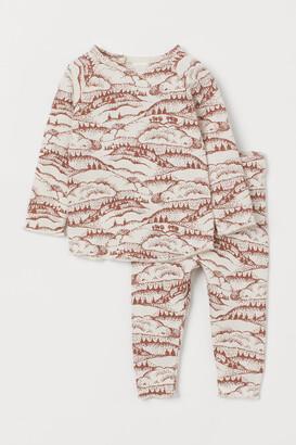 H&M Top and Pants - Orange