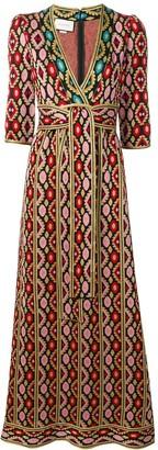 Gucci Printed Maxi Dress