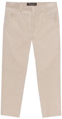 Loro Piana Kids Stretch-cotton pants