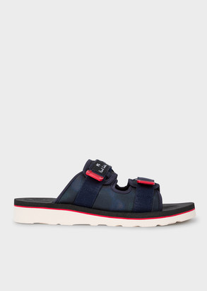 Paul Smith Men's Navy 'Micah' Sandals With Vibram Soles