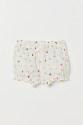 H&M Puff Pants - White