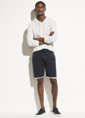 Vince Double Layer Pima Cotton Short