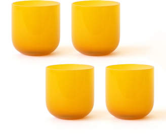 Jonathan Adler Yellow Pop Rocks Glass Bundle