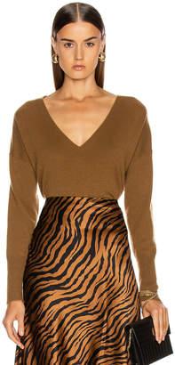 Nili Lotan Kylan Cashmere Sweater in Bourbon | FWRD
