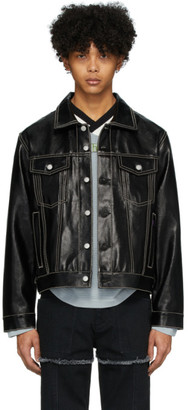 Eytys Black Denim Buck Tar Jacket