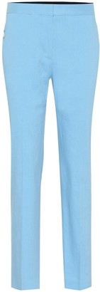 Rag & Bone Poppy Tab linen-blend pants