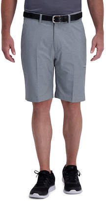 """Haggar The Active Series"""" Performance Utility Slim Fit Flat Front Short"""