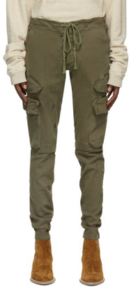 Greg Lauren Khaki Army Cargo Pants
