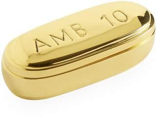 Jonathan Adler Brass Ambien Pill Box