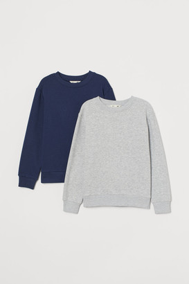 H&M 2-pack Sweatshirts - Gray